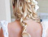 Свадебные прически на длинные волосы, фото 6