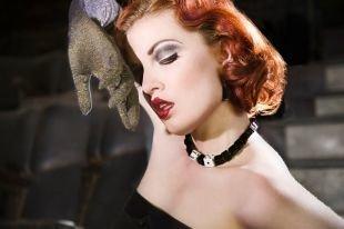 Макияж для рыжих, дерзкий макияж в стиле чикаго 30-х годов