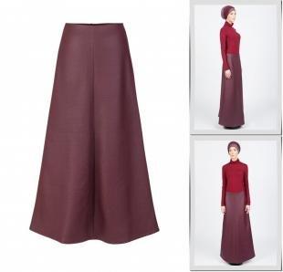 Бордовые юбки, юбка bella kareema,