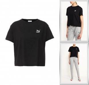 Черные футболки, футболка puma, осень-зима 2016/2017