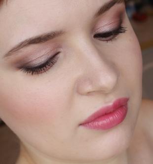 Макияж для полных лиц, повседневный макияж для карих глаз
