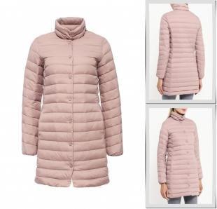 Розовые куртки, куртка утепленная zarina, осень-зима 2016/2017