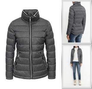 Серые куртки, куртка утепленная grishko, осень-зима 2016/2017