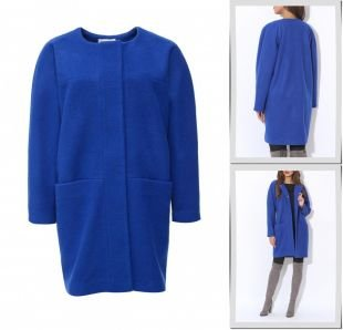 Синие пальто, пальто tutto bene, весна-лето 2016
