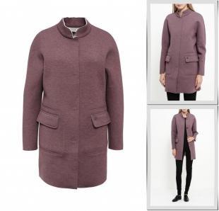 Фиолетовые пальто, пальто finn flare, осень-зима 2016/2017