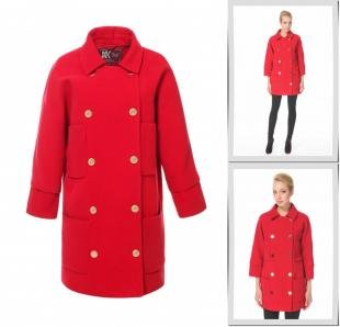 Красные пальто, пальто московская меховая компания,