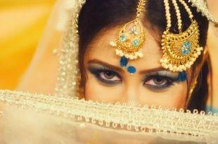 Свадебный макияж в восточном стиле, завораживающий восточный макияж
