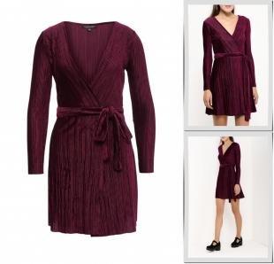 Фиолетовые платья, платье topshop, осень-зима 2016/2017