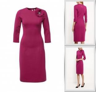 Фиолетовые платья, платье olivegrey, осень-зима 2016/2017