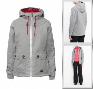 Серые куртки, куртка утепленная trespass, осень-зима 2016/2017