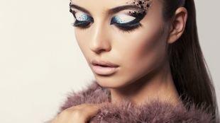 Авангардный макияж, арт-визаж для фотосессии