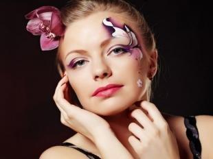Карнавальный макияж, художественный макияж глаз