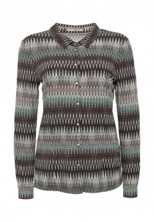 Коричневые блузки, блуза vis-a-vis, осень-зима 2016/2017