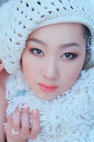 Макияж для бледной кожи, красивый макияж для азиатских глаз