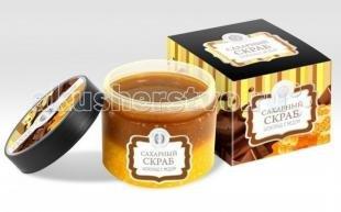 Сахарный скраб, дом природы сахарный скраб шоколад с медом 300 г