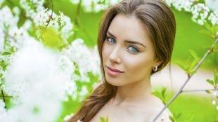 Макияж на фотосессию на природе, легкий макияж для молодой кожи