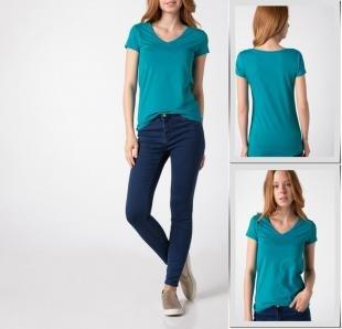 Голубые футболки, футболка defacto,