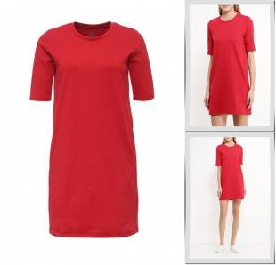 Красные платья, платье твое, осень-зима 2016/2017