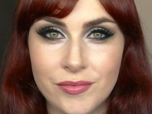 Макияж для зеленых глаз под зеленое платье, идеи красивого макияжа для зеленых глаз