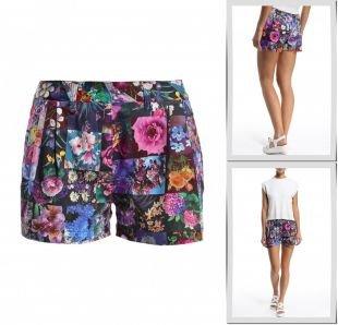 Фиолетовые шорты, шорты baon, весна-лето 2015