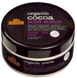 Эффективный скраб для тела, planeta organica скраб для тела какао (organic cocoa)
