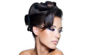 Свадебные прически на бок на средние волосы, превосходная прическа на средние волосы