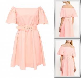 Оранжевые платья, платье lamania, весна-лето 2016