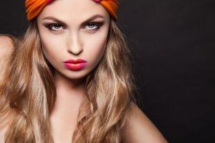 Креативный макияж, весенний макияж смоки айс