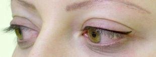 Татуаж глаз, татуаж глаз - легкие стрелки