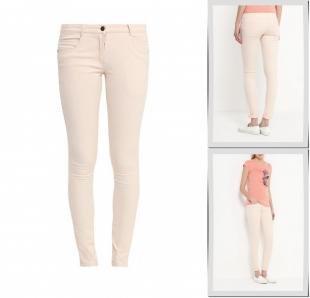 Оранжевые джинсы, джинсы emoi, весна-лето 2016