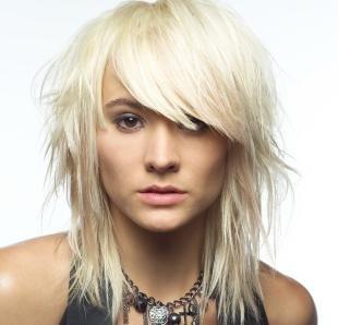 """Платиновый цвет волос на средние волосы, цвет волос """"платиновый блондин"""""""