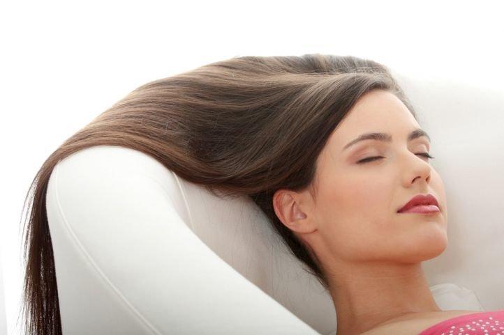 СПА/SPA процедуры для волос - горячее обертывание